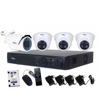 AHD Camera Package 4-Channel