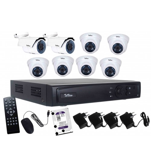 AHD Camera Package 8-Channel